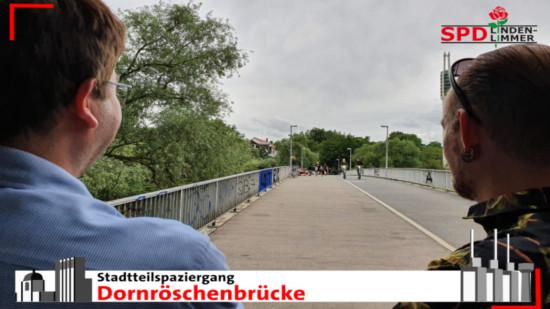 Stadtteilspaziergang Dornröschenbrücke