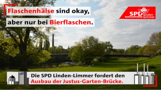 Ausbau der Justus-Garten-Brücke